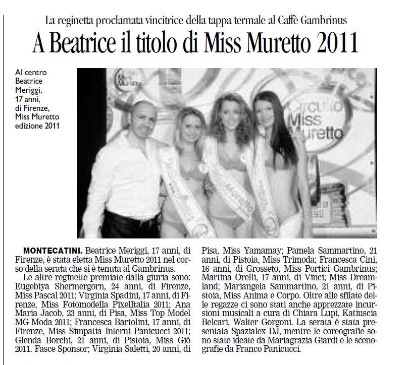 IL TIRRENO - 25.06.2011 pag. IV