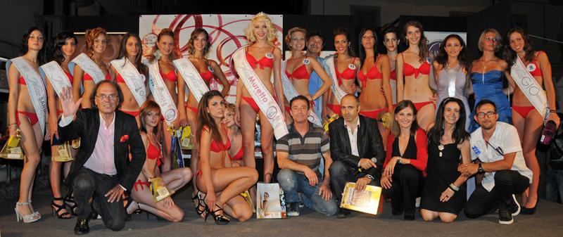 Miss Muretto Vinegar Empoli 2011 - Foto di Gruppo