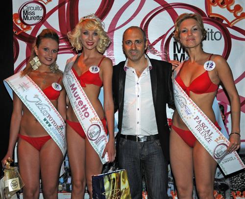 Miss Muretto Vinegar Empoli 2011 - Spazialex con le prime 3