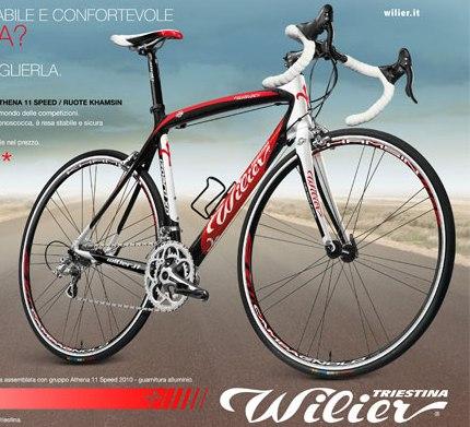 Wilier Izoard XP - Athena - Khamsin M WR
