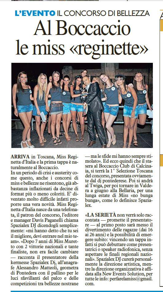 La Nazione - 27.04.2013