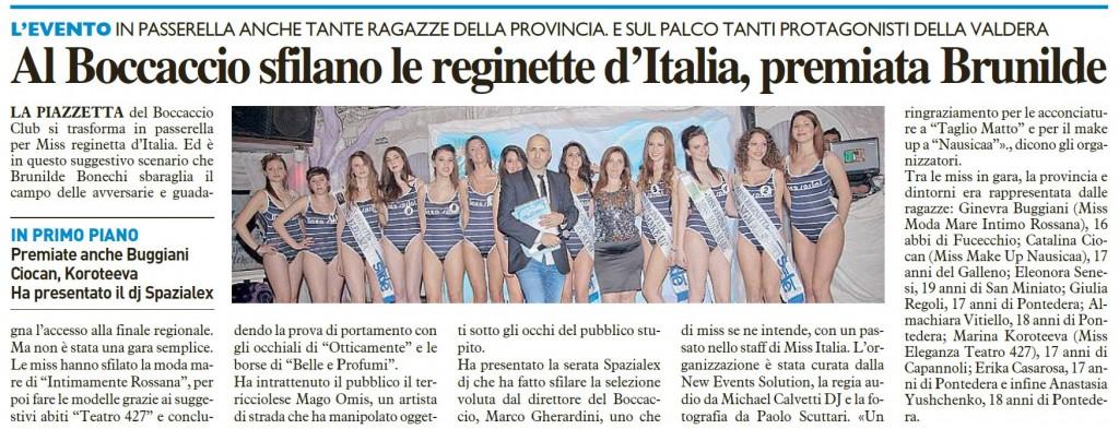La Nazione - 29.04.2013